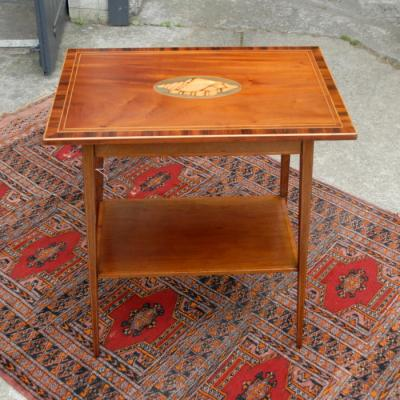 Fine Inlaid Occasional Table